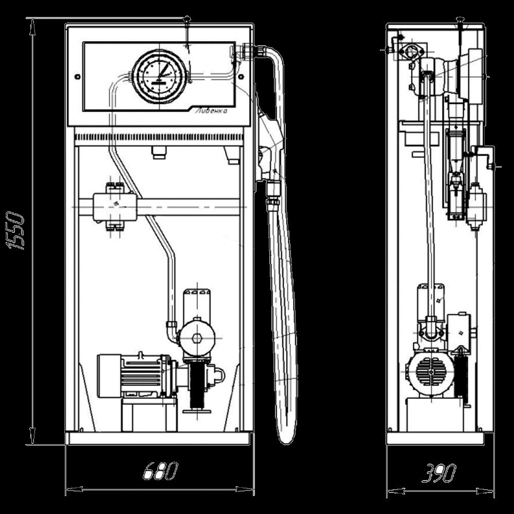 Ливенка 41101 - габариты