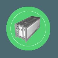 Мобильная контейнерная АЗС типа КМ