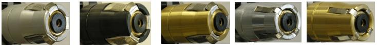 Материалы корпуса для разных комплектаций газораздаточного пистолета LPG