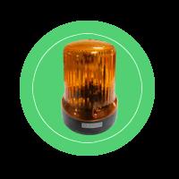 Проблесковый маяк «Сакура» С12-21-01 (автожелтый)