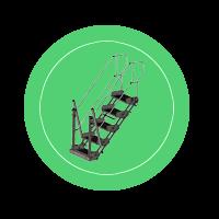 Перекидной трап ТП-4(5)С