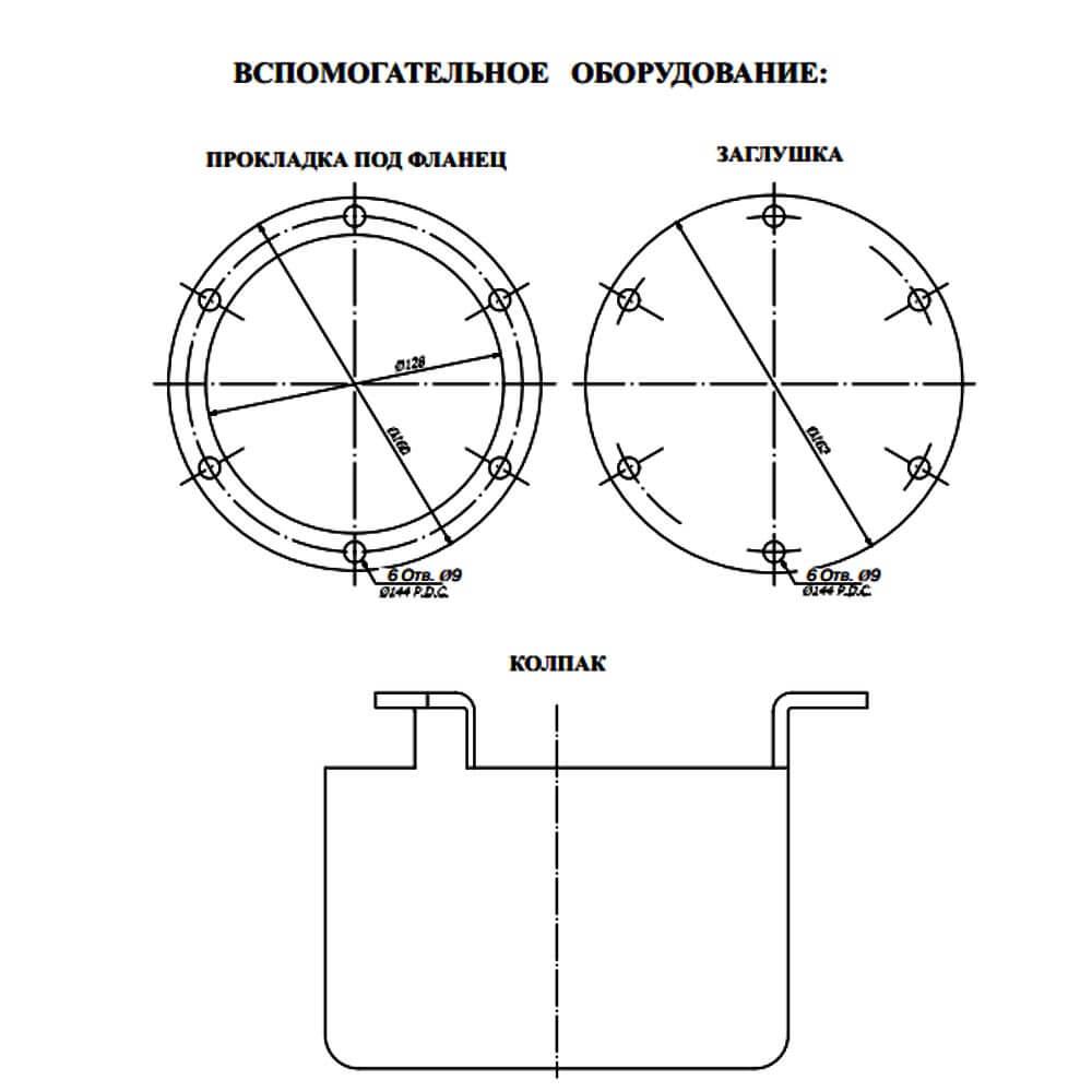 Дыхательный клапан для бензовоза с огнепреградителем