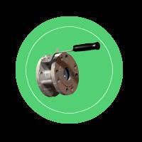 Кран шаровый КШШС для автоцистерны или бензовоза