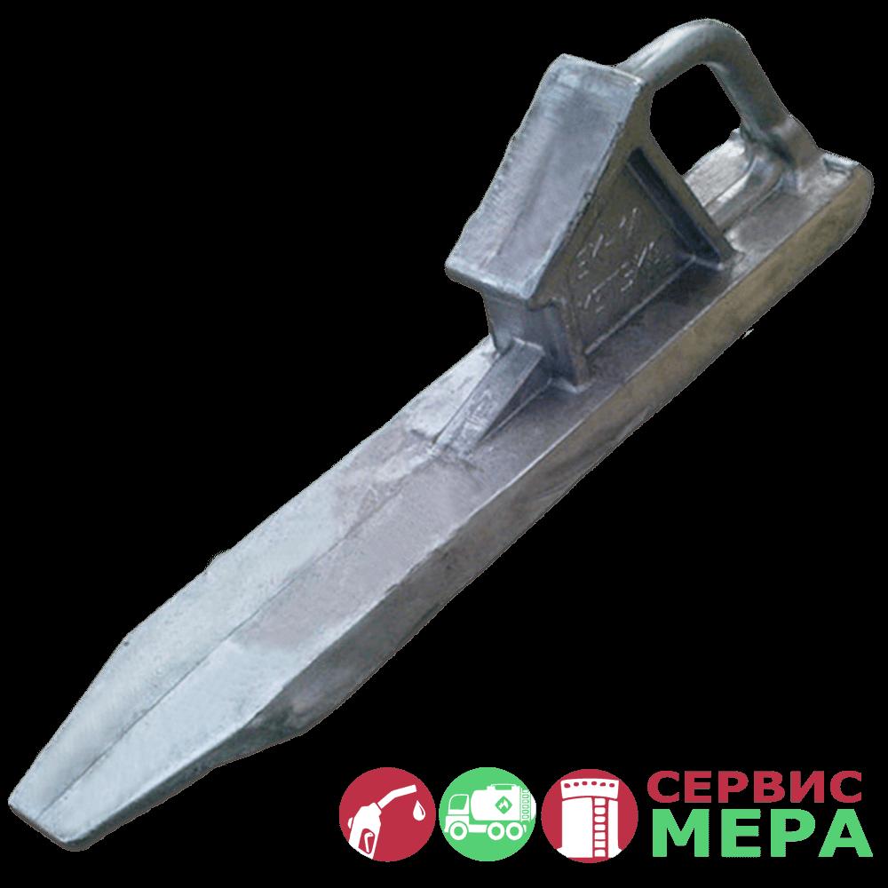 Противооткатный башмак БК-1 (ж/д)