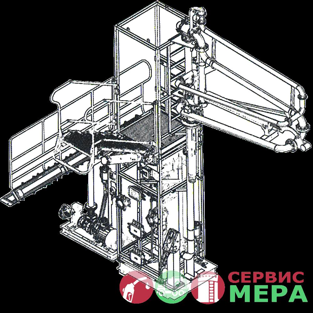 Автоматизированная система налива АСН-12ВГ - 1 вид топлива