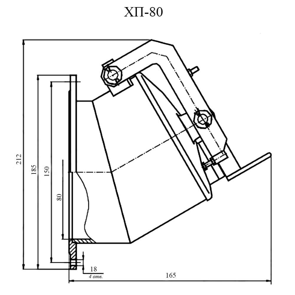 Хлопушка ХП-80 чертеж