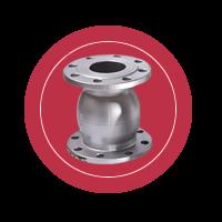 Запорный обратный клапан ЗКО (ЗКО-50 – ЗКО-200)