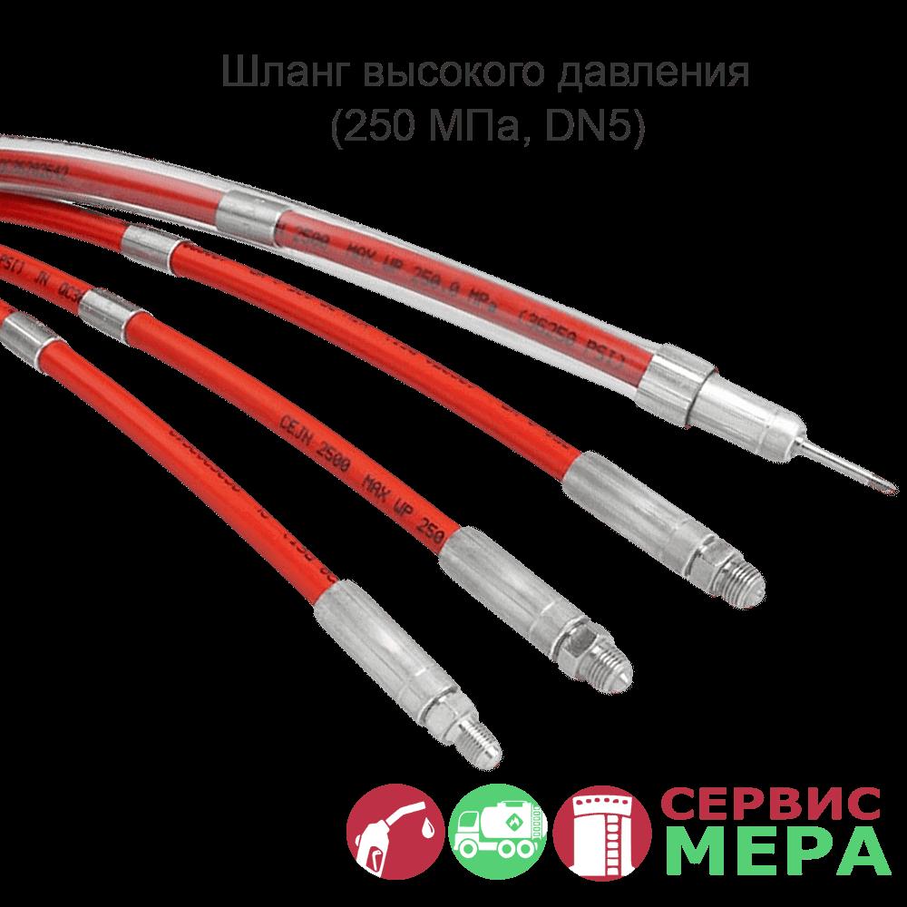 Гидравлический шланг высокого давления (250 МПа, DN5)