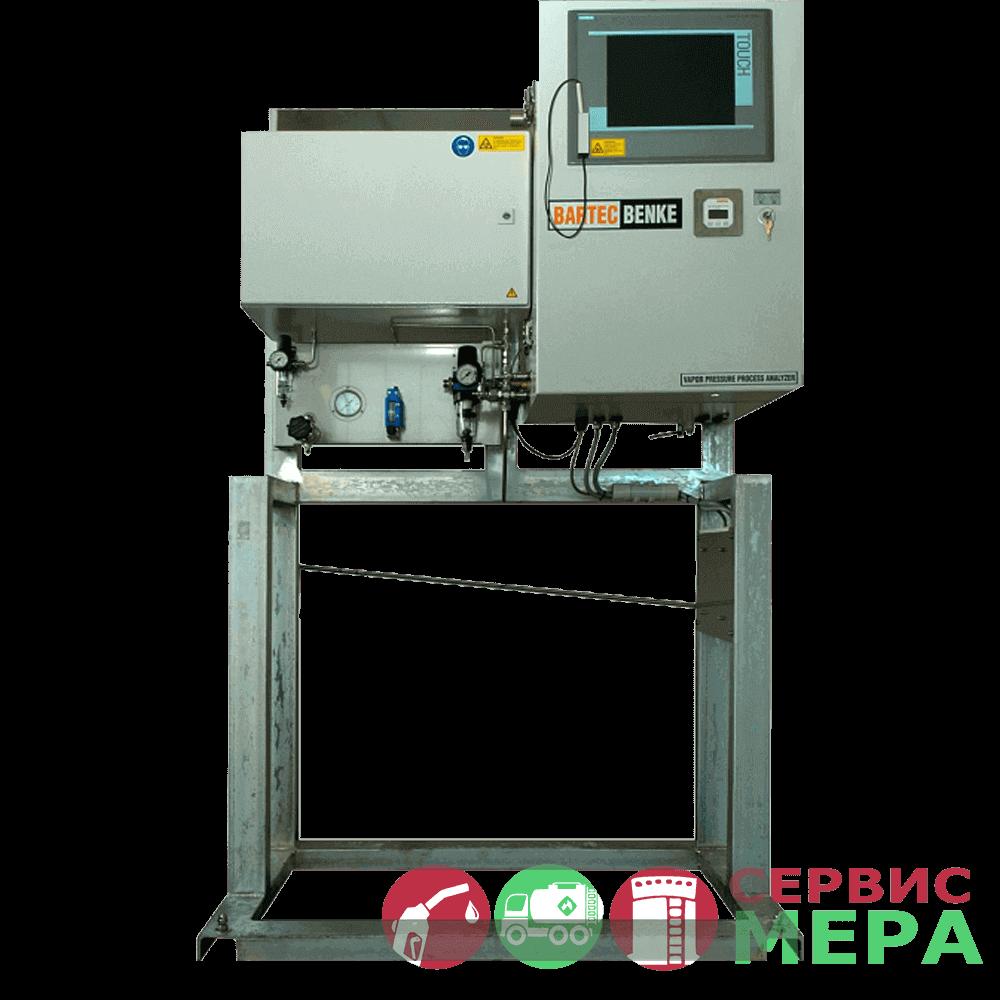 Поточный автоматический анализатор давления насыщенных паров нефти и газа RVP-4