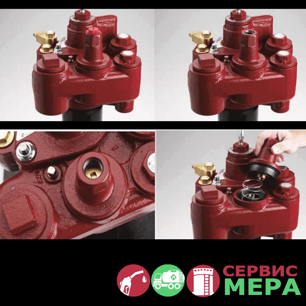 Погружной турбинный насос Red Jacket RJ1, RJ2, RJ3, RJ4 - голова