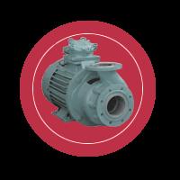 Консольный моноблочный насос КМН-125-100-170