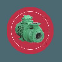 Консольный моноблочный насос КМН-80-65-165