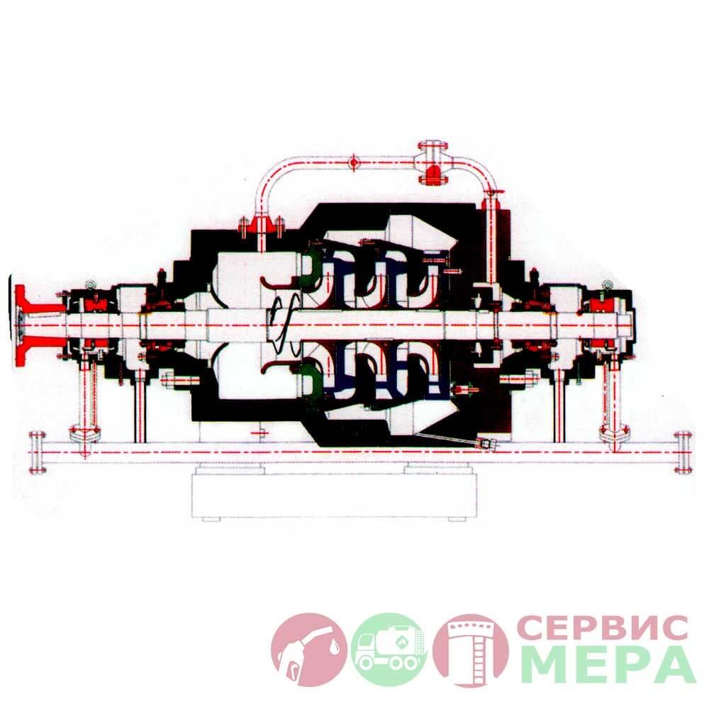 Магистральный насос НММ 1250-400-1 (НММ 1250-400-2)