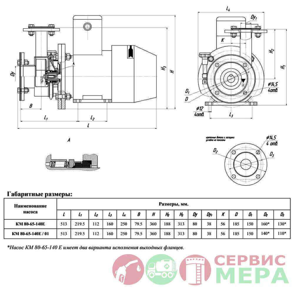 nasos-km-80-65-140e-s-povorotnym-korpusom-chertez