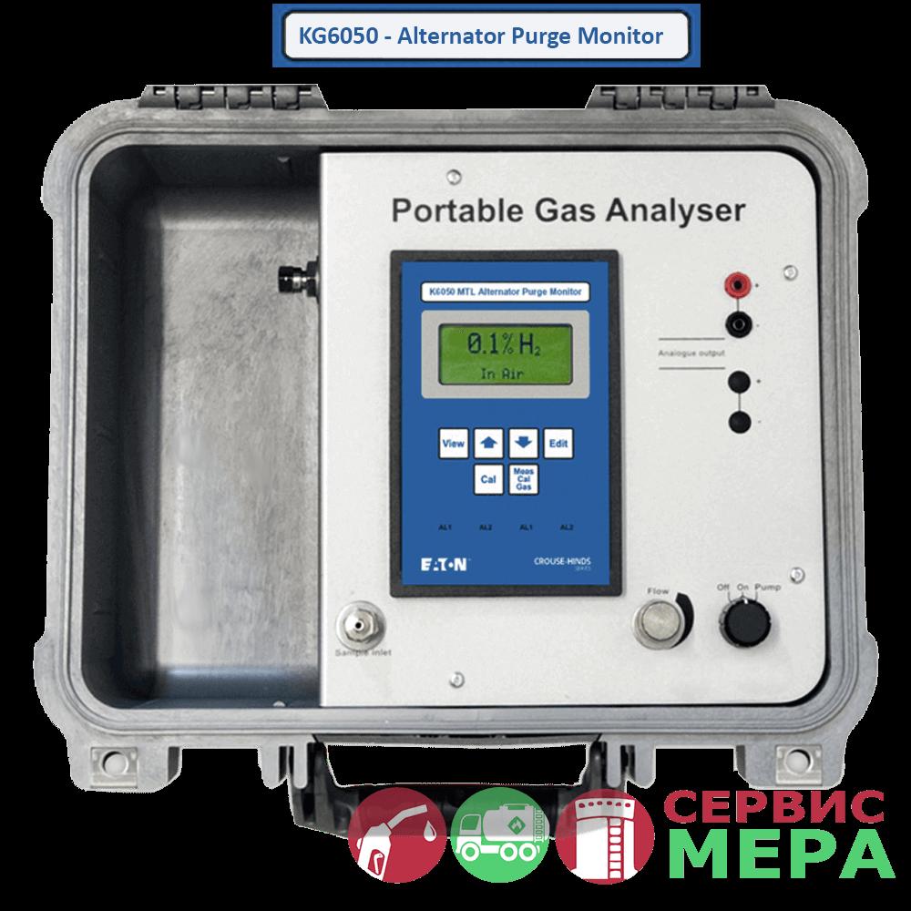 Анализатор водорода, гелия, аргона KG6050 MTL
