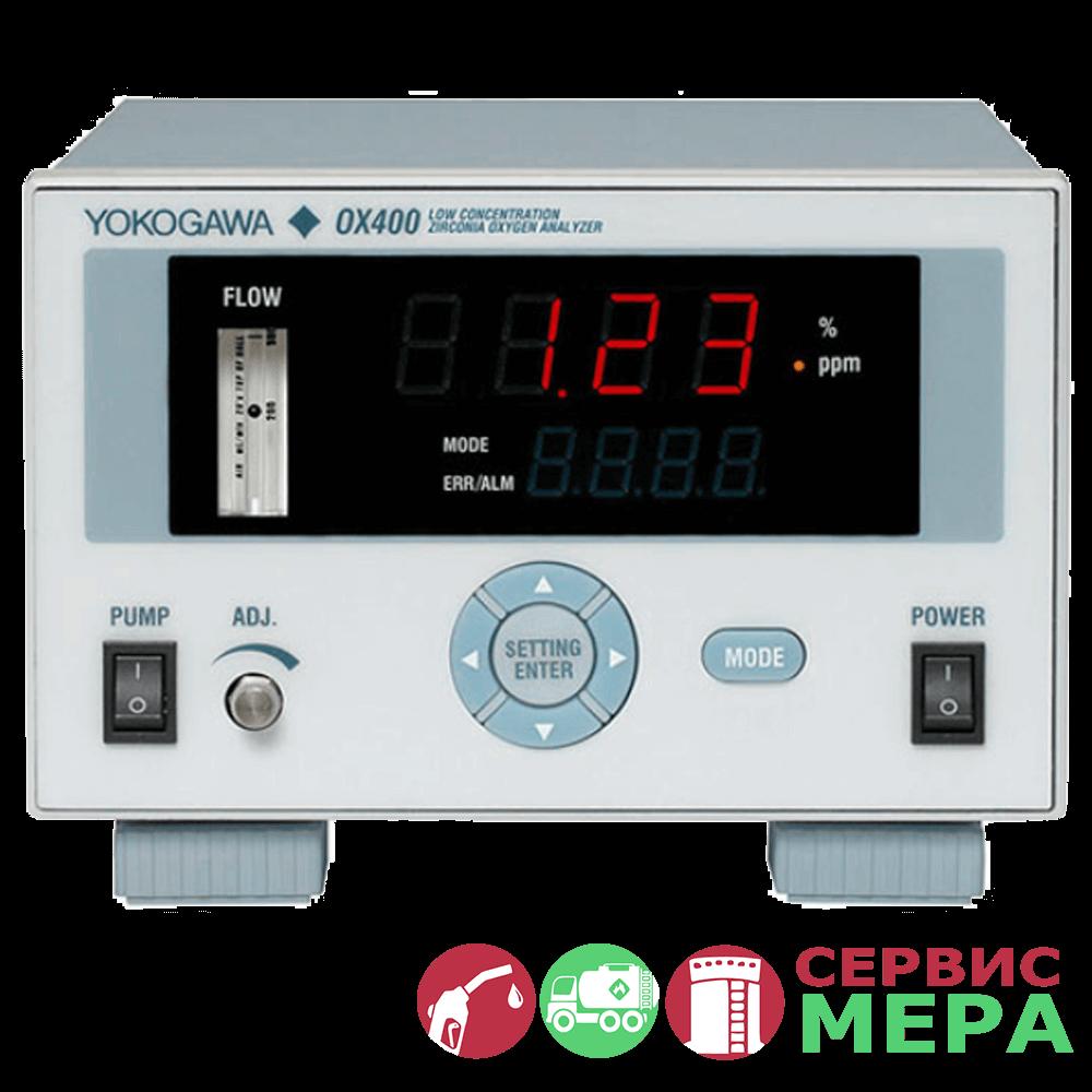 Циркониевый анализатор кислорода OX400 Yokogawa