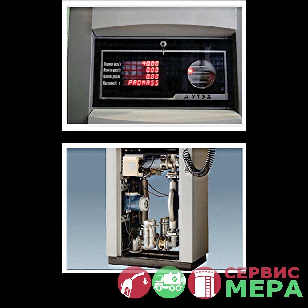Экран покупателя и гидравлика топливораздаточной установки УТЭД
