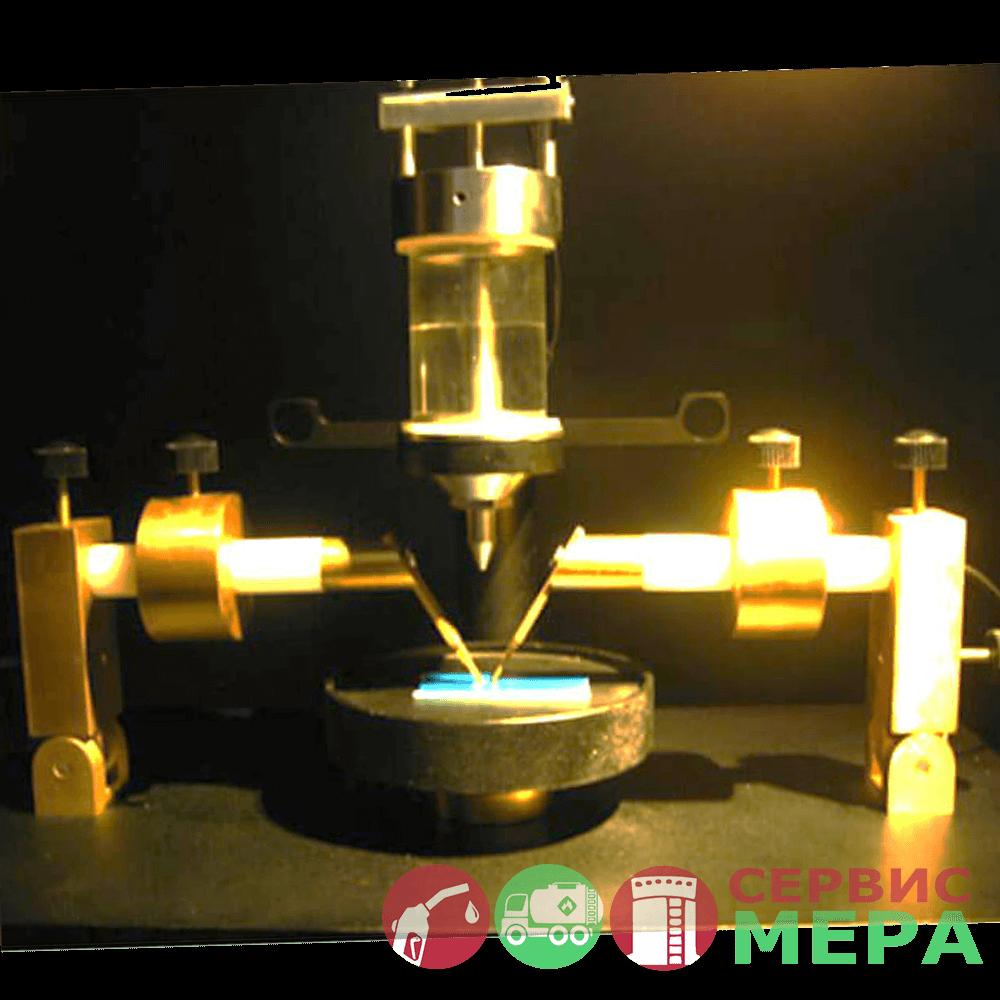 Установка для испытания раскаленной проволокой - механизм внутри шкафа