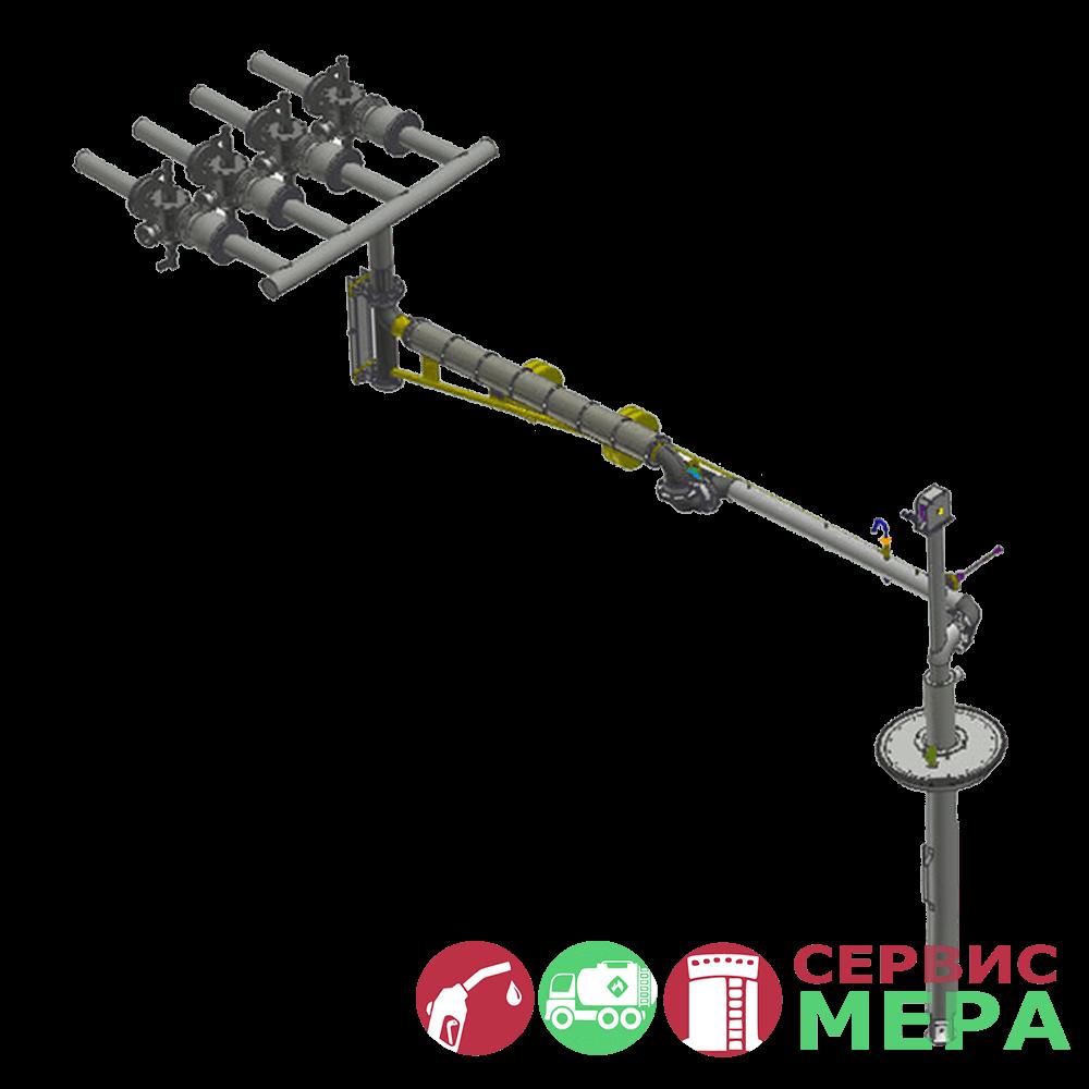 Многоканальная система управления наливом