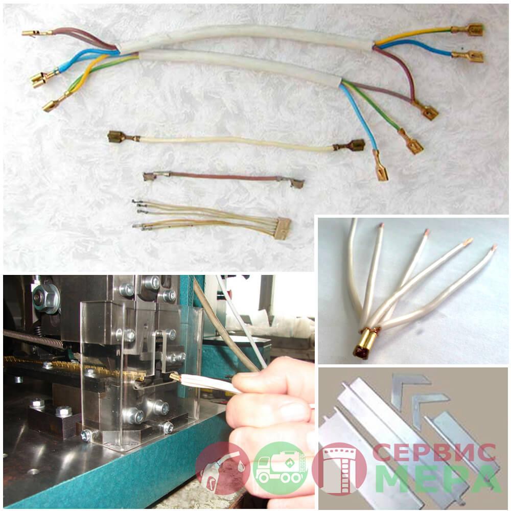 Пресс кривошипный электрический ПК-1.8 - применение